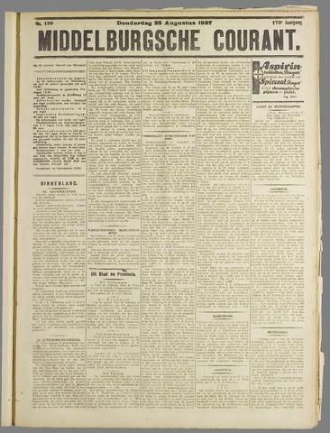 Middelburgsche Courant 1927-08-25