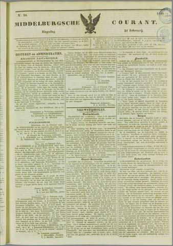 Middelburgsche Courant 1846-02-24