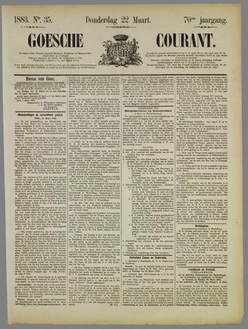 Goessche Courant 1883-03-22
