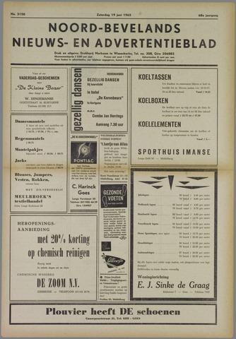 Noord-Bevelands Nieuws- en advertentieblad 1965-06-19