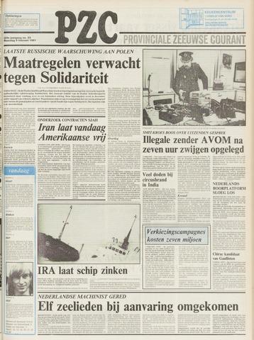Provinciale Zeeuwse Courant 1981-02-09