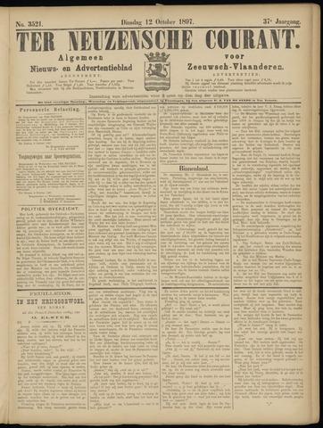 Ter Neuzensche Courant. Algemeen Nieuws- en Advertentieblad voor Zeeuwsch-Vlaanderen / Neuzensche Courant ... (idem) / (Algemeen) nieuws en advertentieblad voor Zeeuwsch-Vlaanderen 1897-10-12