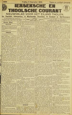 Ierseksche en Thoolsche Courant 1932-09-02