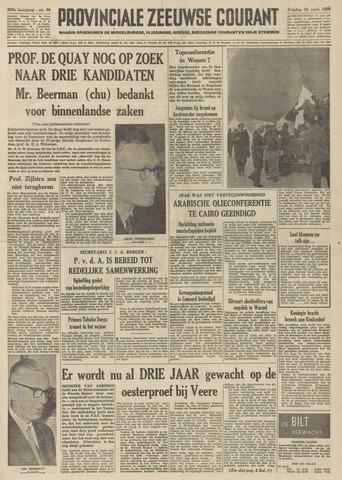 Provinciale Zeeuwse Courant 1959-04-24