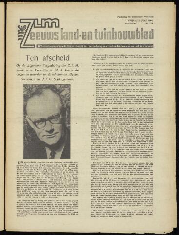 Zeeuwsch landbouwblad ... ZLM land- en tuinbouwblad 1964-07-03