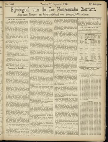 Ter Neuzensche Courant. Algemeen Nieuws- en Advertentieblad voor Zeeuwsch-Vlaanderen / Neuzensche Courant ... (idem) / (Algemeen) nieuws en advertentieblad voor Zeeuwsch-Vlaanderen 1890-09-27