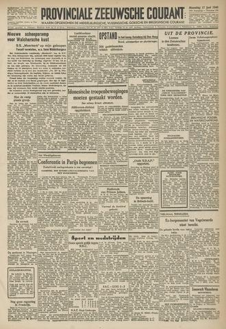 Provinciale Zeeuwse Courant 1946-06-17