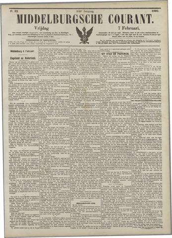 Middelburgsche Courant 1902-02-07