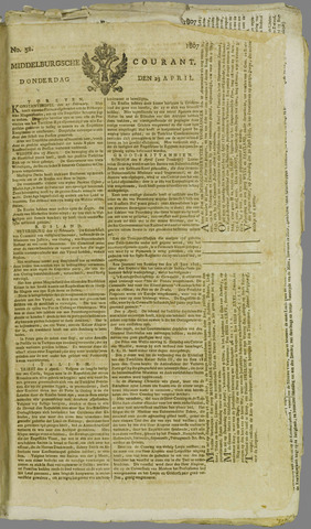 Middelburgsche Courant 1807-04-23