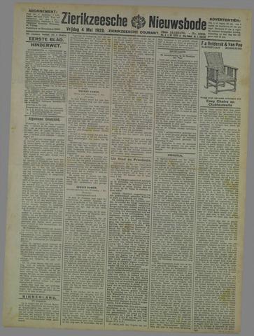 Zierikzeesche Nieuwsbode 1923-05-04