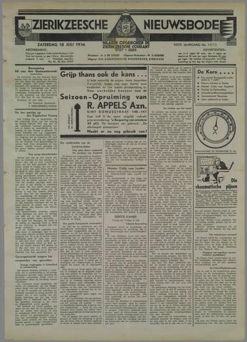 Zierikzeesche Nieuwsbode 1936-07-18