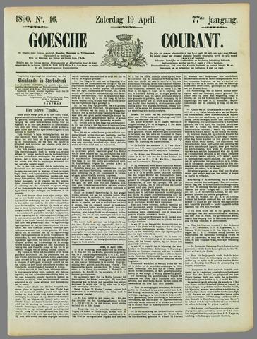 Goessche Courant 1890-04-19