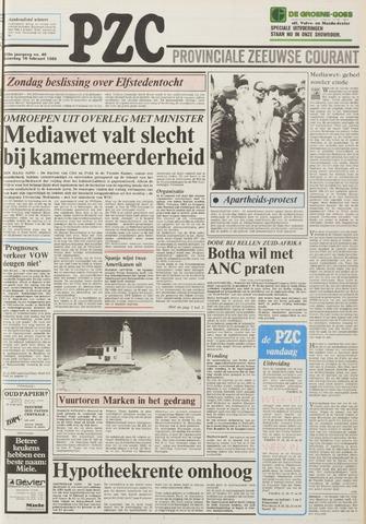 Provinciale Zeeuwse Courant 1985-02-16