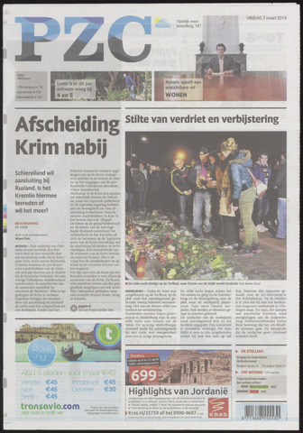 Provinciale Zeeuwse Courant 2014-03-07
