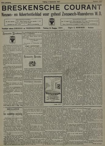 Breskensche Courant 1937-09-03