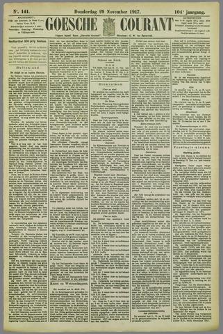 Goessche Courant 1917-11-29