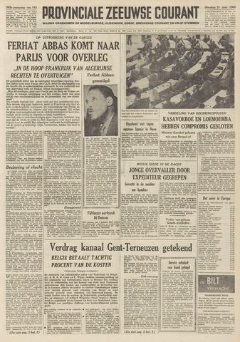 Provinciale Zeeuwse Courant 1960-06-21