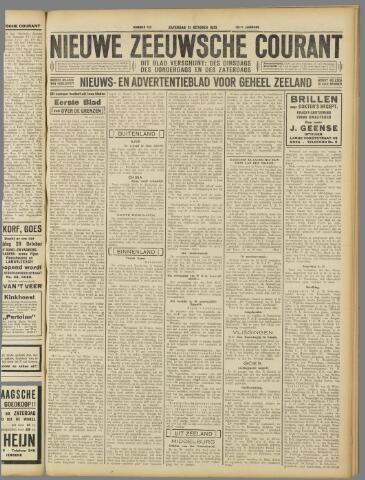Nieuwe Zeeuwsche Courant 1933-10-21