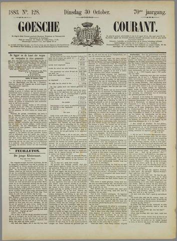 Goessche Courant 1883-10-30