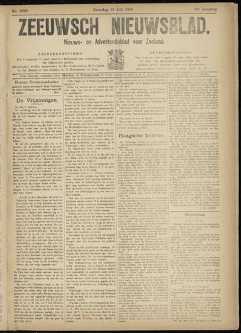 Ter Neuzensch Volksblad. Vrijzinnig nieuws- en advertentieblad voor Zeeuwsch- Vlaanderen / Zeeuwsch Nieuwsblad. Nieuws- en advertentieblad voor Zeeland 1918-07-13