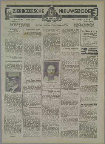 Zierikzeesche Nieuwsbode 1936-06-03