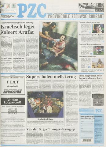 Provinciale Zeeuwse Courant 2002-09-20