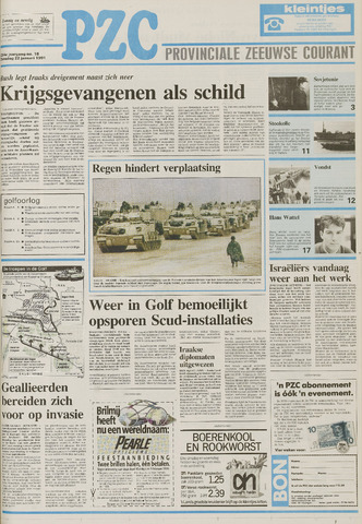Provinciale Zeeuwse Courant 1991-01-22