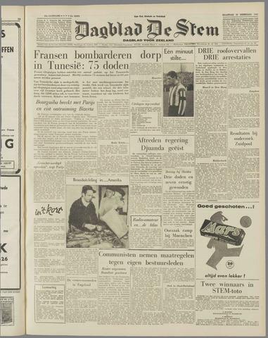 de Stem 1958-02-10