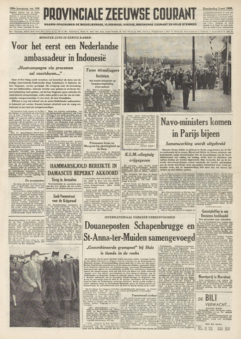 Provinciale Zeeuwse Courant 1956-05-03