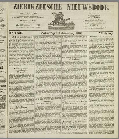 Zierikzeesche Nieuwsbode 1861-01-19