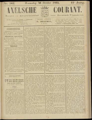 Axelsche Courant 1895-10-30