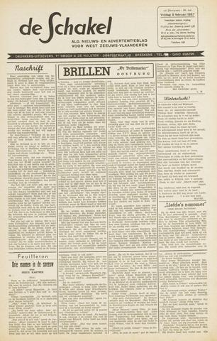 De Schakel 1957-02-08