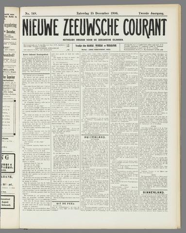 Nieuwe Zeeuwsche Courant 1906-12-15