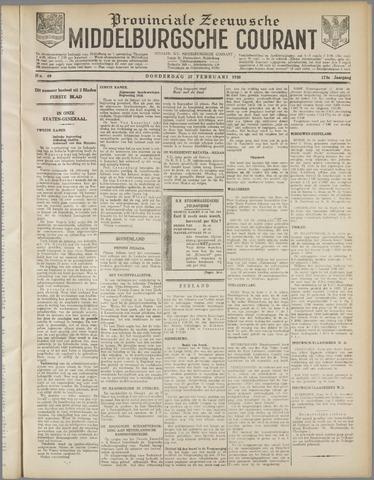 Middelburgsche Courant 1930-02-27