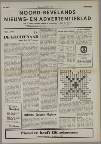 Noord-Bevelands Nieuws- en advertentieblad 1975-07-17