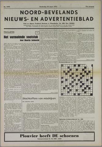 Noord-Bevelands Nieuws- en advertentieblad 1972-03-23