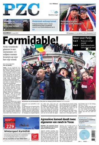 Provinciale Zeeuwse Courant 2015-01-12