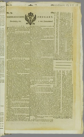 Middelburgsche Courant 1809-06-01