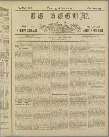 De Zeeuw. Christelijk-historisch nieuwsblad voor Zeeland 1901-09-14