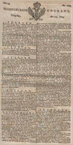Middelburgsche Courant 1779-06-22