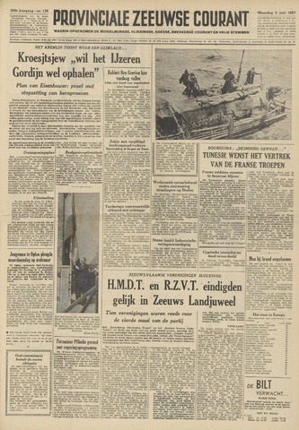 Provinciale Zeeuwse Courant 1957-06-03