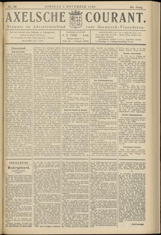 Axelsche Courant 1929-11-05