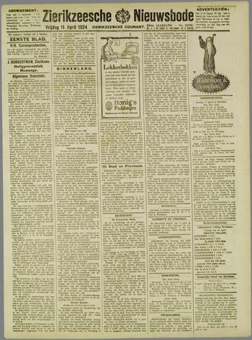 Zierikzeesche Nieuwsbode 1924-04-11