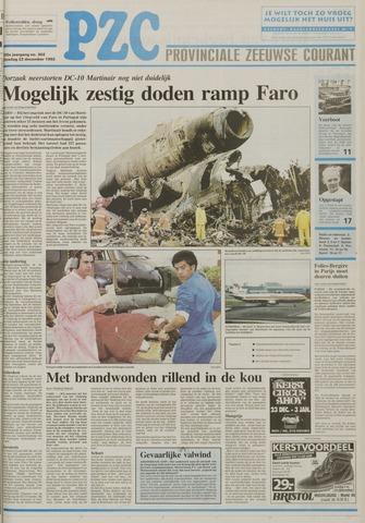 Provinciale Zeeuwse Courant 1992-12-22