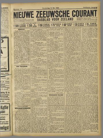 Nieuwe Zeeuwsche Courant 1922-05-18