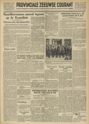 Provinciale Zeeuwse Courant 1950-07-15