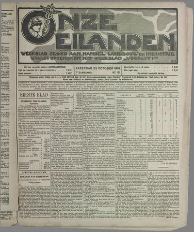 Onze Eilanden 1919-10-25