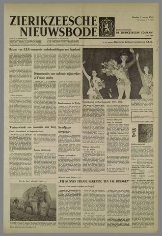 Zierikzeesche Nieuwsbode 1963-03-05