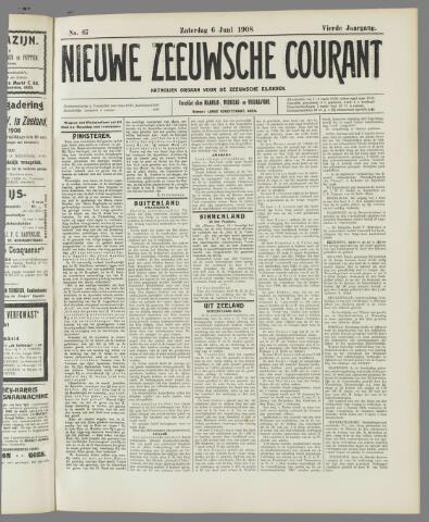 Nieuwe Zeeuwsche Courant 1908-06-06