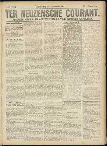 Ter Neuzensche Courant. Algemeen Nieuws- en Advertentieblad voor Zeeuwsch-Vlaanderen / Neuzensche Courant ... (idem) / (Algemeen) nieuws en advertentieblad voor Zeeuwsch-Vlaanderen 1921-11-16